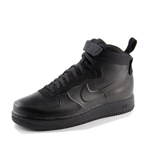 NIKE Men's Air Force 1 Foamposite Cup, Black/Black-Black, 11.5 M US