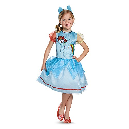 Rainbow Dash Classic Costume, X-Small (3T-4T)