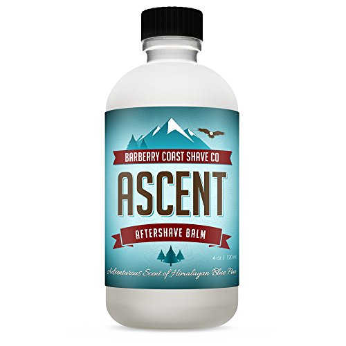 (Himalayan Ascent Aftershave Lotion/Balm - Cooling Menthol - Scent: Blue Pine, Sandalwood, Cedar, Mandarin & Amber - No Harmful Chemicals, No Parabens -)