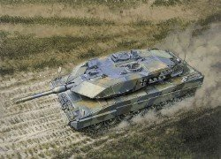 Italeri Leopard 2 A5 German Main Battle Tank 1:35 Scale Military Model Kit (Leopard 2 Main Battle Tank)