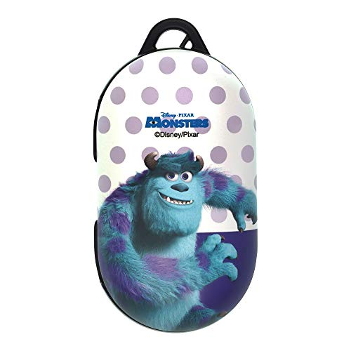 Monsters, Inc, Compatible with Galaxy Buds Case Galaxy Buds Plus (Buds+) Case Protective Hard PC Shell Cover - Movie Sulley