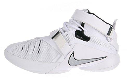 Nike Lebron Niños Soldado Ix (gs) zapatillas de baloncesto Blanco