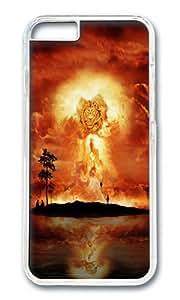 iPhone 6 Plus Case,VUTTOO Stylish Lion Firestorm Art Hard Case For Apple iPhone 6 Plus (5.5 Inch) - PC Transparent