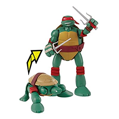 Teenage Mutant Ninja Turtles Mutations Pet To Ninja Raphael Action Figure