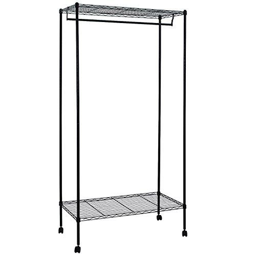 SONGMICS Adjustable Garment Shelves ULGR90P