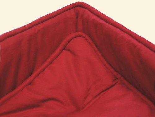 SheetWorld Cradle set - Solid Red Cradle Set - Made In USA