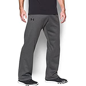 Under Armour Men's Storm Armour Fleece Pants, Carbon Heather/Carbon Heather, X-Large