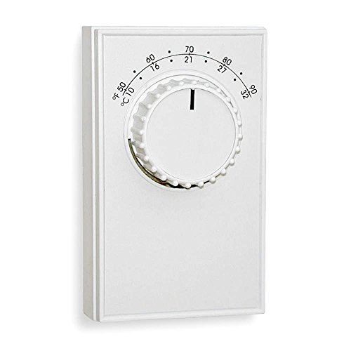 Line Voltage Mechanical Thermostat, Heating/Cooling, 120 to 277VAC
