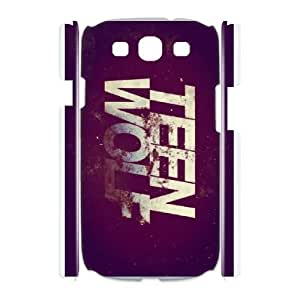 DIY TEEN WOLF phone case For Samsung Galaxy S3 I9300 QQ1E2377