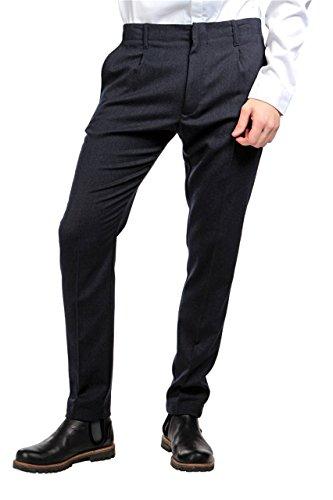 Pierre Balmain Business Pants , Color: Dark blue, Size: 46