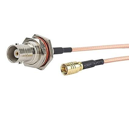 2pcs 6 inch/0.5FT/15 cm conjunto de Cable RF Coaxial Coax,