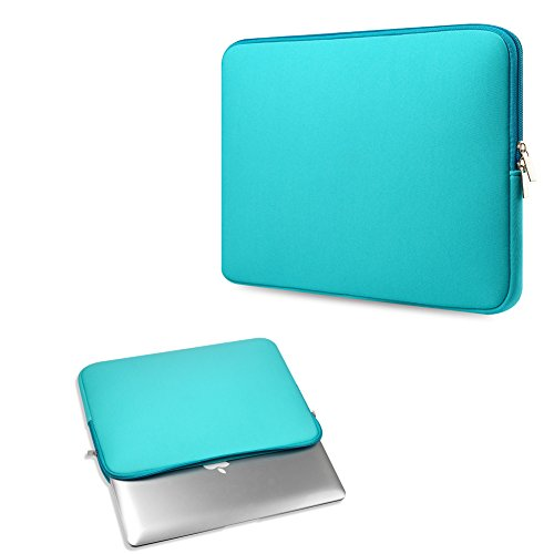 Clutch Notebook Carrying Case - TEKIMBE 11 Inch Laptop Sleeve Bag Case Neoprene Notebook Carrying Bag Briefcase Clutch For Macbook Air Asus/Dell/HP/Lenovo/Acer (Light blue)