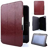 """Meijunter Brown Holder Leather Protector Pouch Case Cover For 7"""" Kindle Fire HD 7 2th 2012 Tablet"""