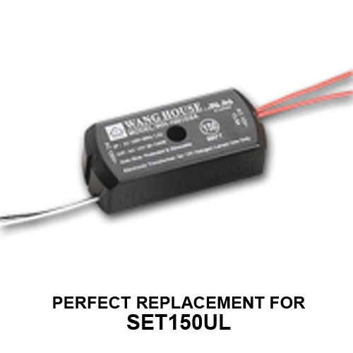 WH-1501E (12V/150W) Wang House Halogen Lighting Transformer (Replaces SET150UL Transformers)