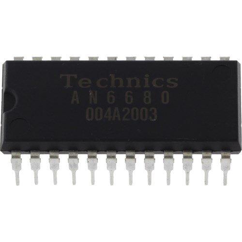 Technics an6680 Control de IC para SL de 1200/1210 Tocadiscos ...