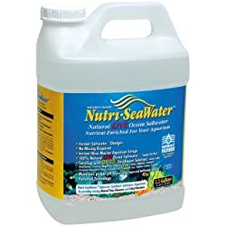 Worldwide Imports AWW84120 Live Nutri Seawater for Aquarium, 2.20-Gallon