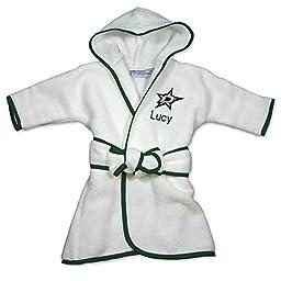 Personalized Dallas Stars Baby Robe