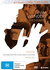 Wim wenders 39 documentaries 3 dvd set tokyo for Chambre 666 film