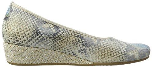 Hassia 3-302106, Scarpe con Zeppa Donna multicolore