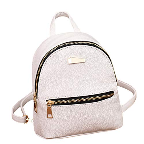 Amazon.com: Teenagers Girls School Backpacks College Shoulder Satchel Travel Bag Women Leather Backpack: Clothing