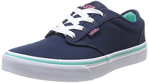 Vans ATWOOD - Zapatillas de deporte Niñas azul - Blau ((Canvas) dress F8R)