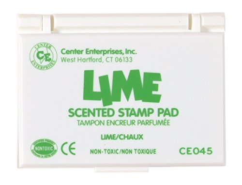 - Center Enterprise CE045 Lime Scented Stamp Pads, Green