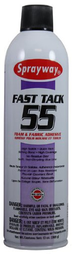 Spray Adhesive, Foam and Fabric, 13 oz.