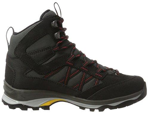 Hanwag Women's Belorado Mid GTX Low Rise Hiking Boots Black (Schwarz_black 12) yCMTGxPUE