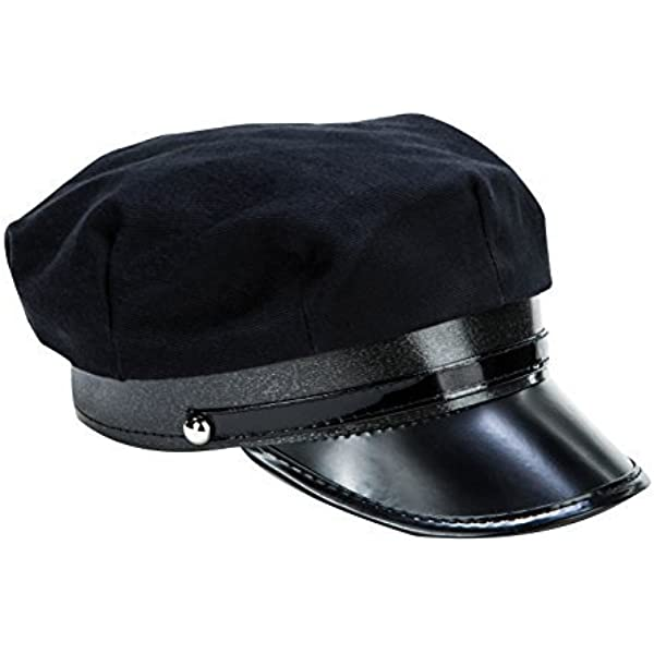 Amazon Com Kangaroo Black Chauffeur Limo Driver Costume Hat Clothing