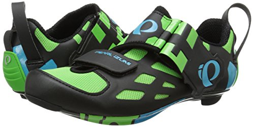 Pearl Izumi M Tri Fly V, Cyclisme unisex 43 Carbon Verde