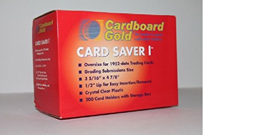 (Card Saver 1 CS1 Pro Graded CARD submits (1 Case = 2000) Cardboard Gold ULTRA PROTECTION)