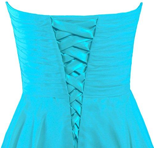ANTS Sweetheart Wedding Chiffon Women's Short Party Bridesmaid Turquoise Dress Dresses rCrvwSq