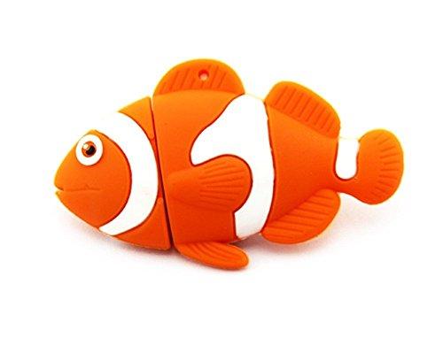 Cute Ocean Fish USB flash drive cartoon pen drive Thumb drive 32gb (Fish Usb)