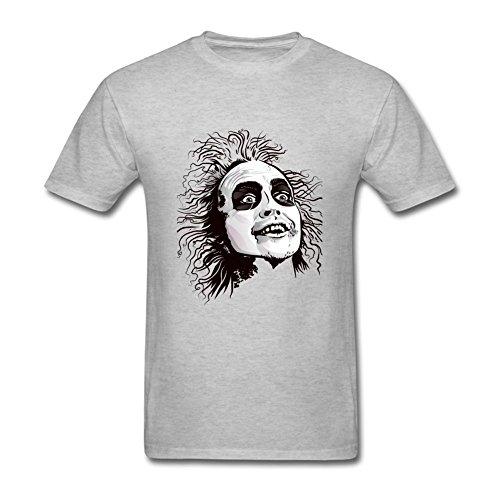 Mens Beetlejuice Zombie Short Sleeve T Shirt Gray