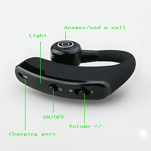 nutk iphone 6 6s plus waterproof bluetooth 4 0 headset wireless stereo hd headphones hands free. Black Bedroom Furniture Sets. Home Design Ideas