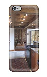 6223446K24462497 Hot Snap-on Cathedral Kitchen Facing Stone-walled Rustic Living Room Hard Cover Case/ Protective Case For Iphone 6 Plus