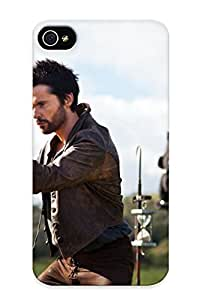 Iphone 4/4s Hard Case With Awesome Look - 501d8393558 For Christmas Day's Gift