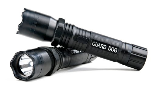 Guard Dog Security Diablo Stun Gun - Tactical Stun Gun with LED Flashlight - Police Strength Stun Gun with Concealed Technology - Personal Defense Equipment - Rechargeable