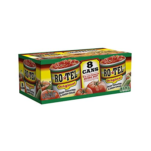 (RO-TEL Diced Tomatoes & Green Chilies (10 oz. cans)