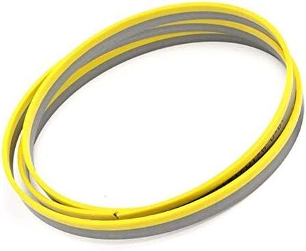 WXQ-XQ 丸鋸刃、2375mmx 19ミリメートルX 14tpi M42バイメタルバンドソーブレードキット金属電気ツールを切断するため