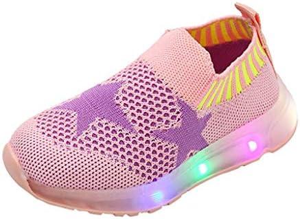 Scarpe Bambina con Luci Sneakers, LED Scarpe Sportive per