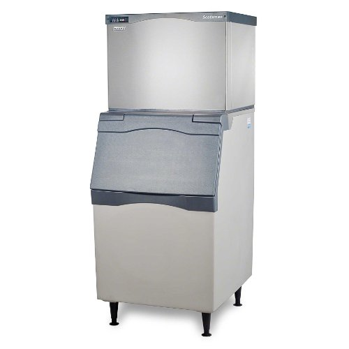 Scotsman C0530MA-B530P 525 lb 30'' Air-Cooled Medium Cube Ice Machine w/ Storage Bin by Scotsman