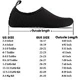 UBFEN Kids Water Shoes Aqua Socks Quick Dry Anti