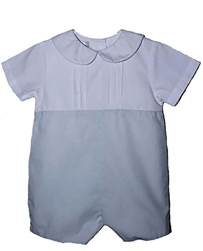 petit-ami-baby-boys-mint-check-romper-with-pintucks-18-24-months