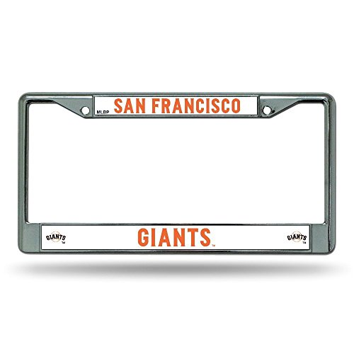 MLB San Francisco Giants Chrome License Plate (San Francisco Giants Metal)