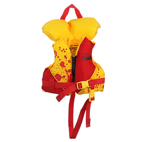 SEACHOICE PROD Deluxe Infant US Type II Vest, Orange, 30 lb
