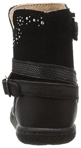 Geox B Flick Girl B, Botines de Senderismo para Bebés Negro (Black C9999)