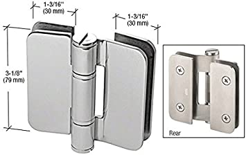 Polished Stainless Screw and Washer Accent Kit for Zurich Hinges