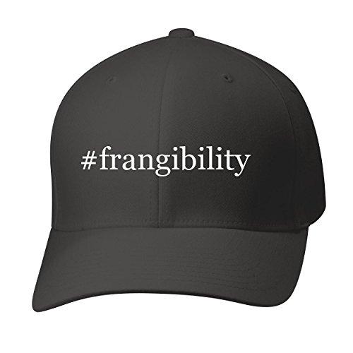 BH Cool Designs #frangibility - Baseball Hat Cap Adult, Black, Large/X-Large