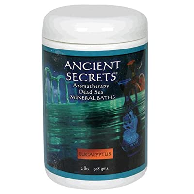 Ancient Secrets Mineral Baths, Aromatherapy Dead Sea, Eucalyptus, 32 oz (2 Lbs) 908 G (Pack of 2)
